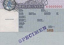 Visa policy of Serbia - Wikipedia