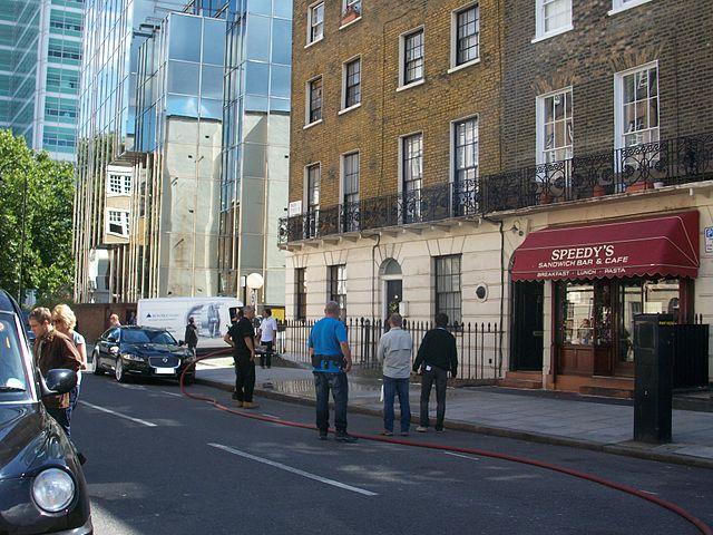 File:Sherlock - North Gower Street, London.JPG - Wikipedia
