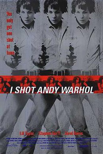 I Shot Andy Warhol - Theatrical release poster