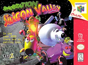 Space Station Silicon Valley - North American Nintendo 64 cover art