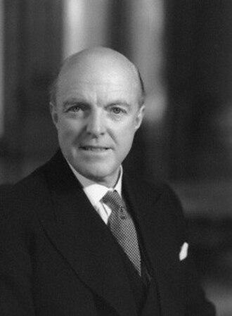 Harold Caccia, Baron Caccia - Caccia in 1962