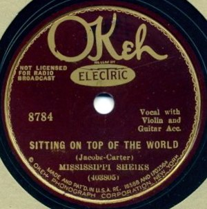 Sitting on Top of the World - Image: Sitting on Top of the World single cover