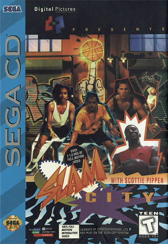 Slam City with Scottie Pippen - Cover art