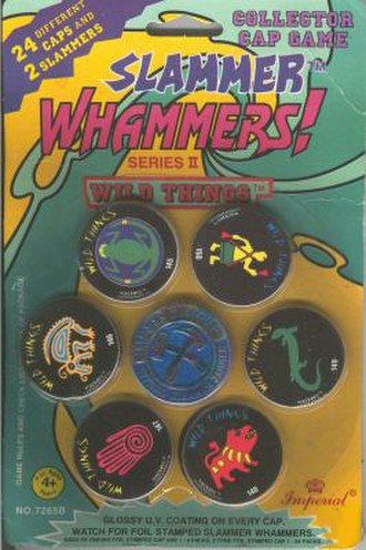 Slammer Whammers - Wild Things Slammer Whammers in its original factory packaging. Circa 1994
