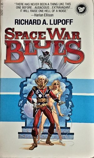 Space War Blues - Book cover.