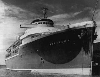 SS Aquarama - Image: Ss Aquarama