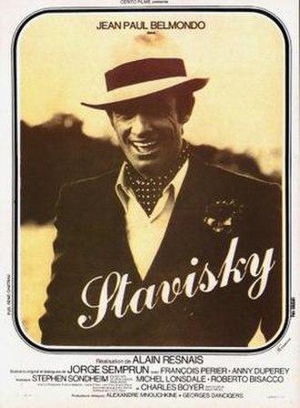 Stavisky - French film poster