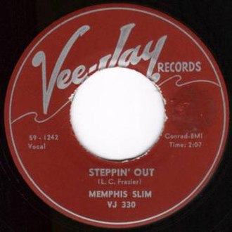Steppin' Out (instrumental) - Image: Steppin' Out single cover