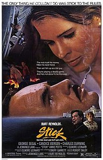 <i>Stick</i> (film) 1985 film by Burt Reynolds