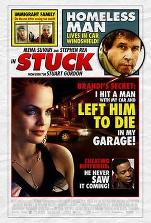 Stuck (2007 film) - Theatrical release poster