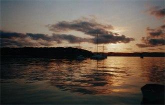 Peel Island - Sunrise at Horseshoe Bay, Peel Island