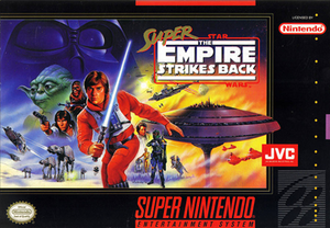 Super Star Wars: The Empire Strikes Back - Cover art