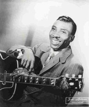 T-Bone Walker - Publicity photo of Walker, 1942