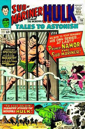 Tales to Astonish - Image: Tales To Astonish 70