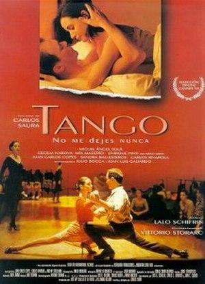 Tango (1998 film) - Original theatrical release poster
