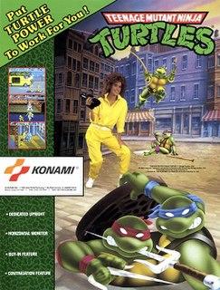 <i>Teenage Mutant Ninja Turtles</i> (arcade game) Konami as a 1989 coin-operated video game