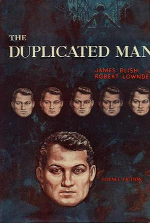The Duplicated Man - First book edition (1959) Cover art by Ed Emshwiller
