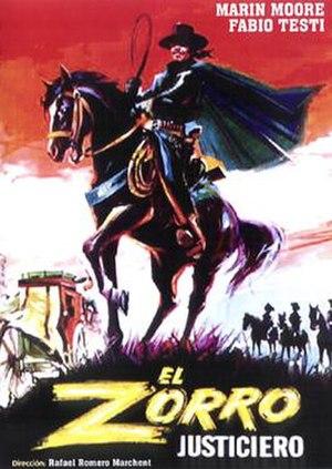 The Avenger, Zorro - Image: The Avenger, Zorro