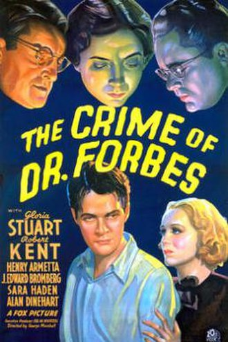 The Crime of Dr. Forbes - Image: The Crime of Dr. Forbes