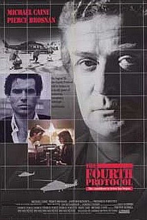 The Fourth Protocol (film) - Theatrical release poster