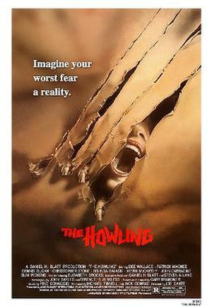 The Howling (film) - Theatrical release poster
