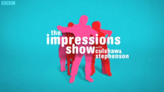 The Impressions Show with Culshaw and Stephenson - Series 3 title card