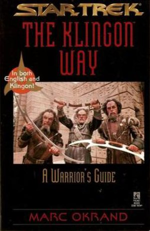 The Klingon Way - Image: The Klingon Way cover