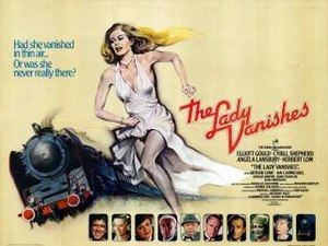 The Lady Vanishes (1979 film) - 1979 theatrical poster.