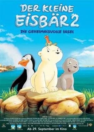 The Little Polar Bear 2 – The Mysterious Island - German poster