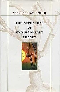 <i>The Structure of Evolutionary Theory</i> book on macroevolutionary theory by Stephen Jay Gould