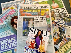 The Sunday Times - Edition number 9,813 of The Sunday Times, published on 7 October 2012