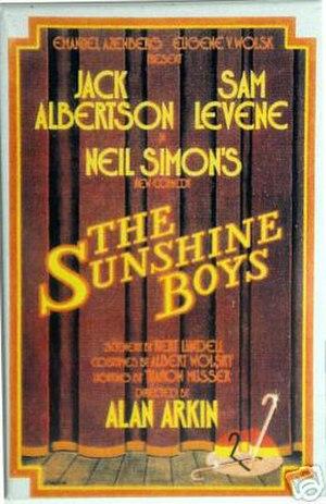 The Sunshine Boys - Original Broadway poster