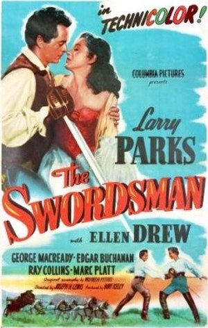 The Swordsman (1948 film) - Theatrical release poster