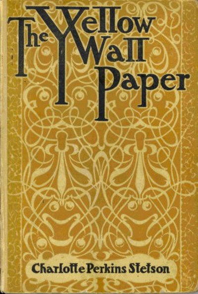 Picture of a book: The Yellow Wallpaper