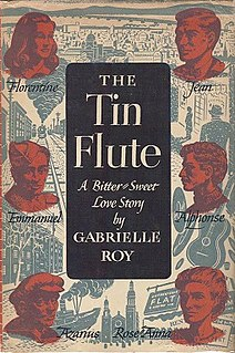 <i>The Tin Flute</i>