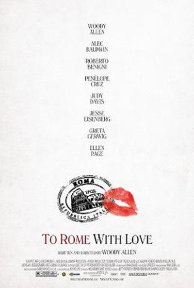 Picture of a movie: To Rome With Love