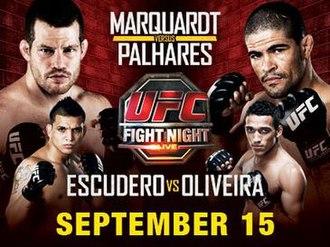 UFC Fight Night: Marquardt vs. Palhares - Image: UFC now FP