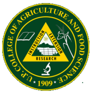 University of the Philippines Los Baños College of Agriculture - Image: UPLB College of Agriculture and Food Science Logo