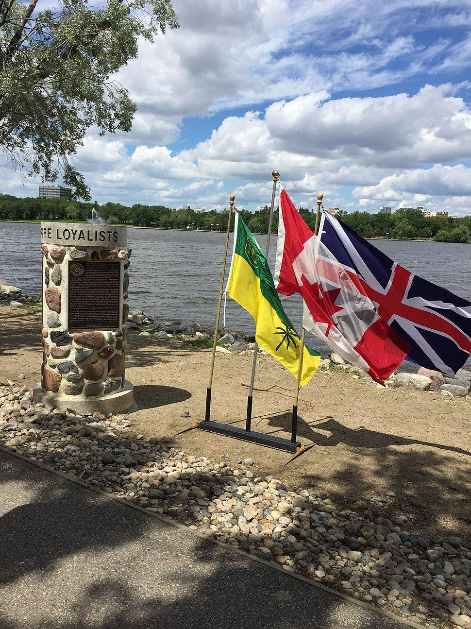United Empire Loyalist Cairn, Wascana Park, Regina, Saskatchewan