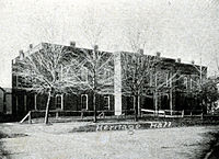 Heritage Hall, Valparaiso University, 1905 (Photograph courtesy of the S. Shook Collection)