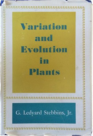 Variation and Evolution in Plants - First edition, 1950 (publ. Columbia University Press)