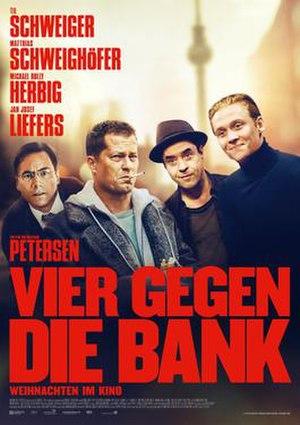Vier gegen die Bank (2016 film) - Image: Vier gegen die Bank (2016 film)