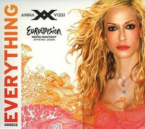 Everything (Anna Vissi song) - Image: Vissi everything promo