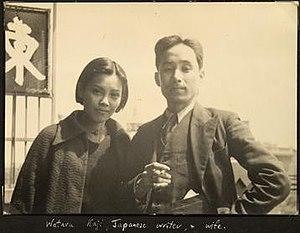 Wataru Kaji - Kaji and his wife in Hankow circa 1938