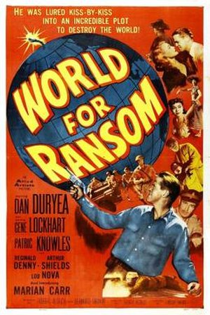 World for Ransom - Theatrical release poster