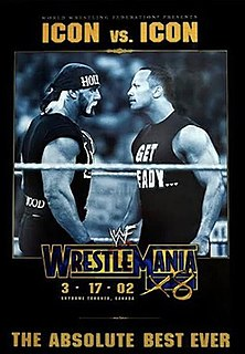 WrestleMania X8 2002 World Wrestling Federation pay-per-view event