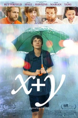 X+Y - Image: X+Y poster