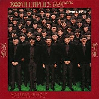 X∞Multiplies - Image: YMO Multiplies UK LP album cover