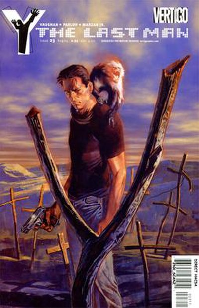 Picture of a book: Y: The Last Man