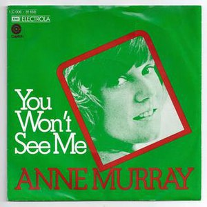 You Won't See Me - Image: You Won't See Me Anne Murray